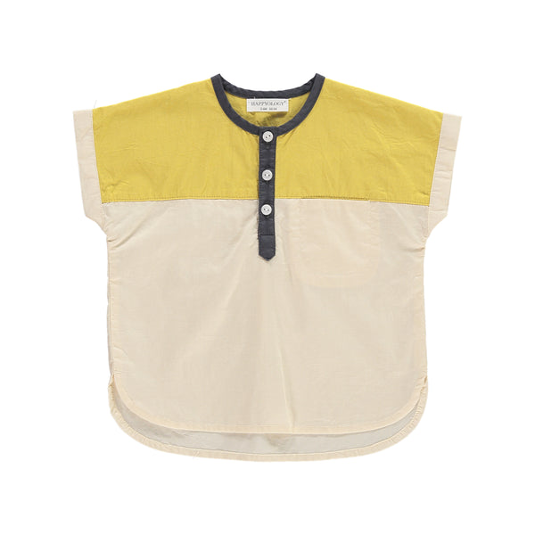 Kalmia Baby Top, Sun Yellow