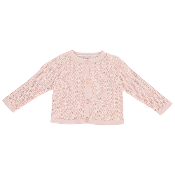River Baby Cardigan, Blush