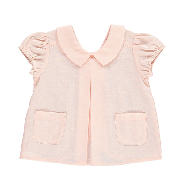 Thyme Top, Baby Pink