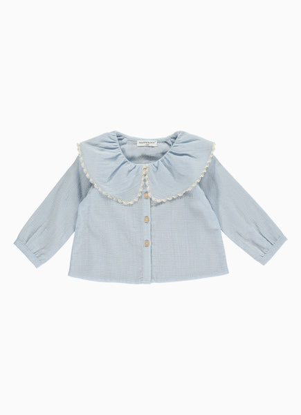 Lerena Baby Blouse, Cashmere