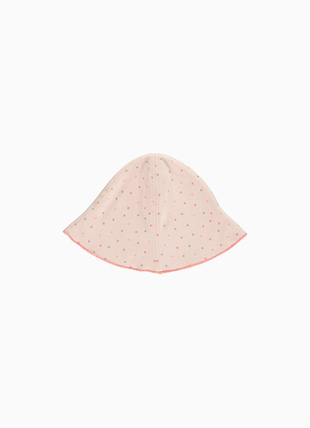 Twinkle Baby Hat, Star Print Blush