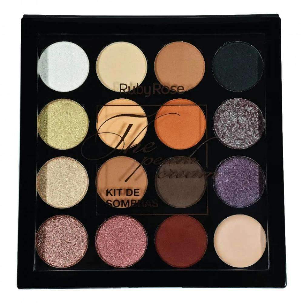 Paleta De Sombras The Peach Cream - Ruby Rose - Loja Nadiaz