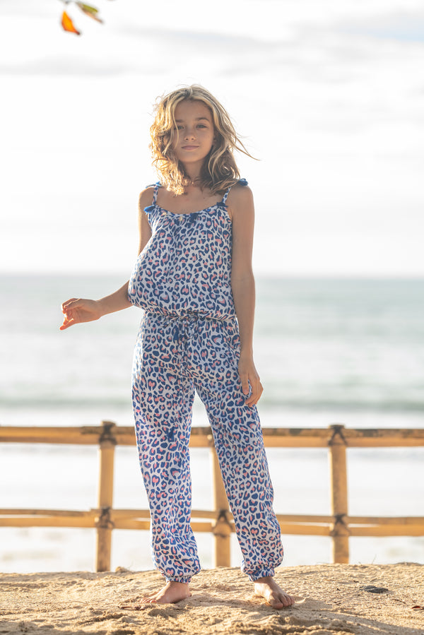 Jumpsuit Leo Blue