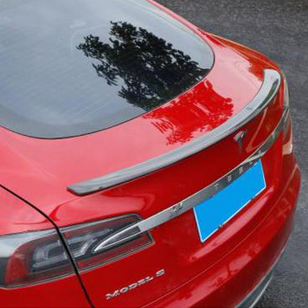 Carbon Fiber Rear Trunk Spoiler For Tesla