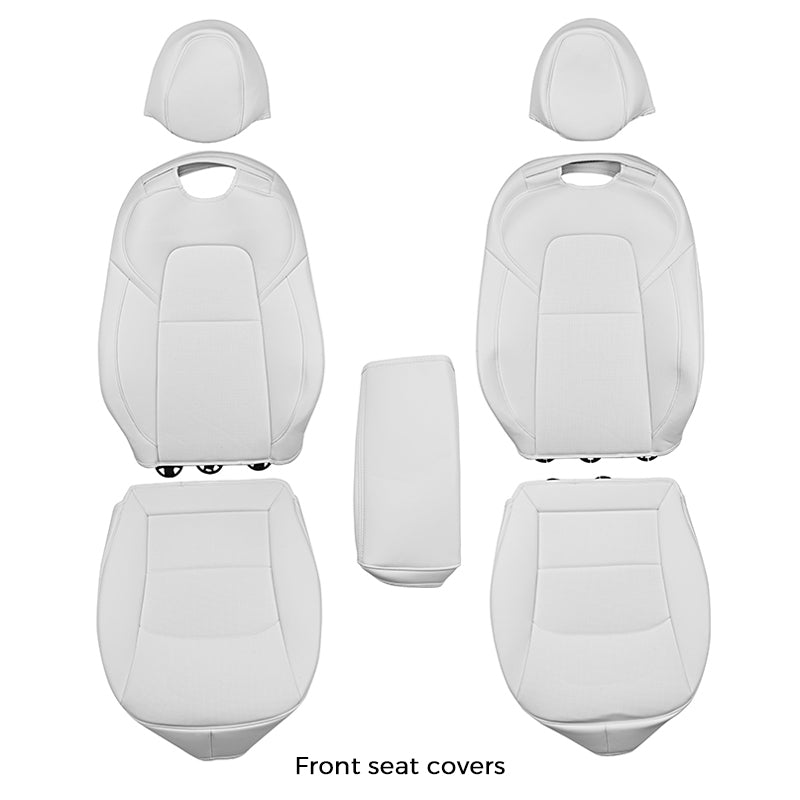 Leather Seat Covers for Tesla Model 3