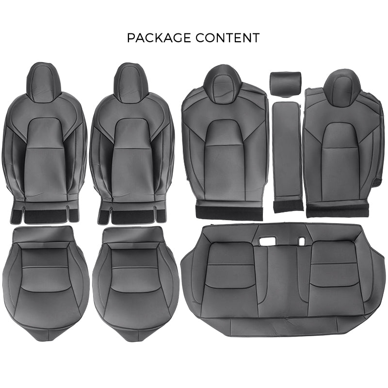 Seat Covers for Tesla Model 3 Full Set