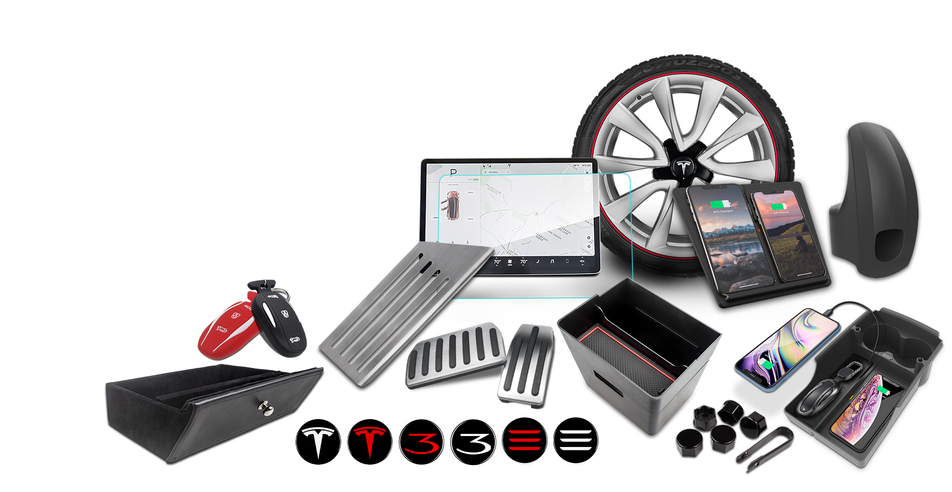 Buy $100 Save $15 on Qualified TapTes Tesla Accessories
