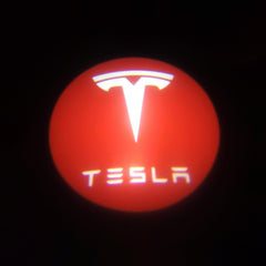 Tesla Logo LED Puddle Lights for Model S ( Set of 2) - TAPTES