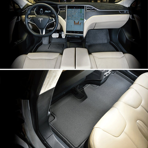 3D MAXpider Floor Mats for Tesla Model S - TAPTES