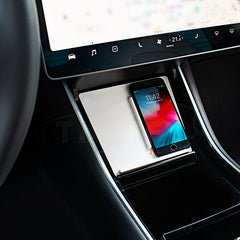 TAPTES Wireless Phone Charger Tray for Tesla Model 3