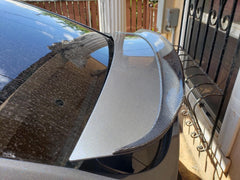 Carbon Fiber Rear Trunk Spoiler for Model X - TAPTES