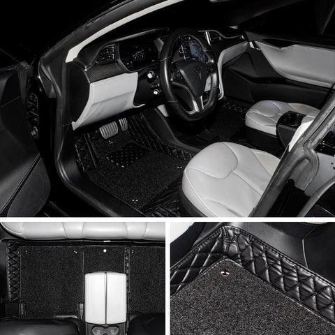 All-Weather Interior Set / Floor Mats for Tesla Model S - TAPTES