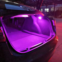 ambient led interior lights Model 3