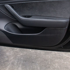 Car Door Inner Anti Kick Protective Wrap Set for Tesla Model 3