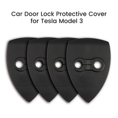 Car Door Lock Protective Cover for Tesla Model 3 - TAPTES
