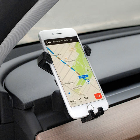 Cell Phone Mount/ Phone Holder for Tesla Model 3 Model Y 2017 2018 2019 2020 2021
