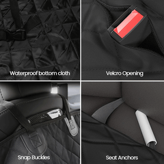 Dog Pet Seat Cover for Tesla Model S Model 3 Model X Model Y
