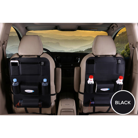 Collapsible Car Seat Back Organizer Storage Bag for Tesla Model 3 - TAPTES