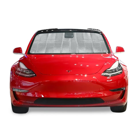 Front Windshield Sunshade for Tesla Model 3 Upgraded Version - TAPTES