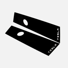 Glossy Black B-Pillar Protective Trim for Tesla Model 3 - TAPTES