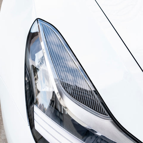 Headlight Molded Trims for Tesla Model 3