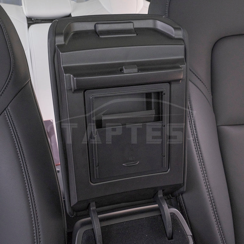 Hidden Armrest Storage Box for Tesla Model 3, Model Y
