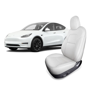 Custom Seat Covers for Tesla Model Y 2020 2021 Front Seats