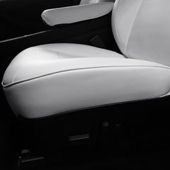 Leather Seat Covers for Tesla Model Y Rear Seats