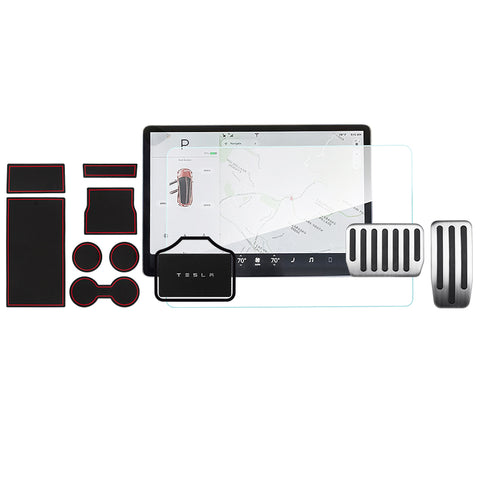 Must have Model 3 Accessories for New Tesla M3 Owners - Essential Bundle - TAPTES