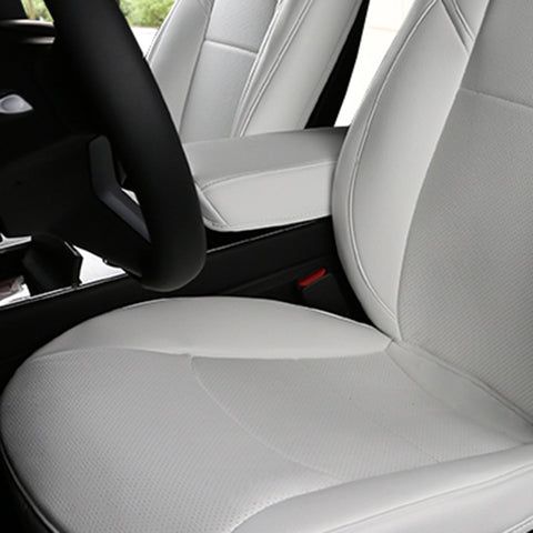 Center Armrest Seat Protective Pad for Tesla Model 3, Black, White, Red - TAPTES