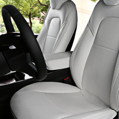 Premium Leather Front Arm Rest Cover for Tesla Model 3
