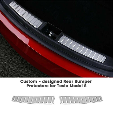 Rear Bumper Protector for Tesla Model S