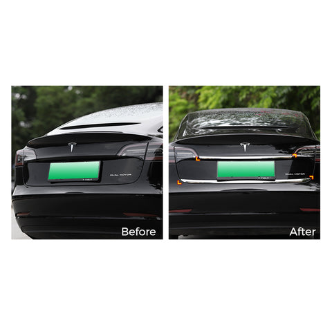 Rear Trunk Door Trim for Tesla Model 3 Lower Trim - TAPTES