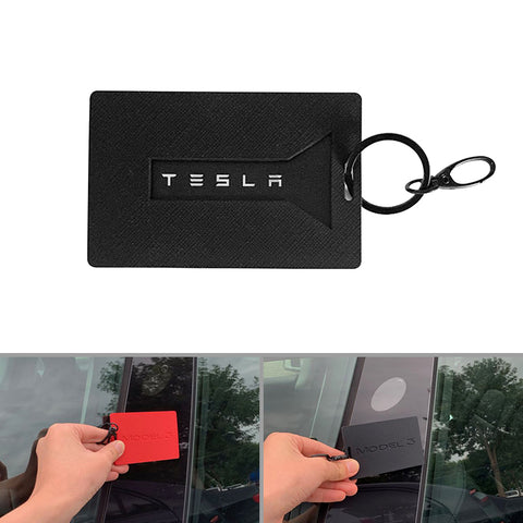 Silicone Key Card Holder for Tesla Model 3