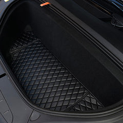 Front and Rear Trunk Mat and 2nd Row Seat Back Protector for Model X 5 Seater - TAPTES