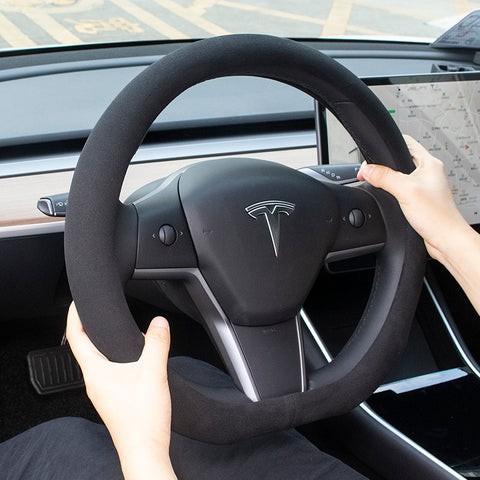 Steering Wheel Cover for Tesla Model 3 - TAPTES