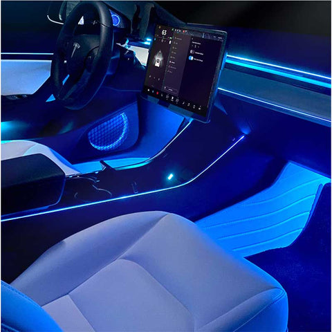 TAPTES 2021 Model 3 Model Y Interior Atmosphere Lighting Interior Modification Auto Accessories