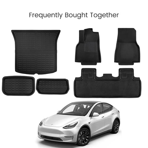 TAPTES All-Weather Floor Mats for Tesla Model Y 2020 2021, for 5 Seaters