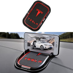 Center Console & Dashboard Anti-Slip Pad Phone Holder for Tesla Model 3