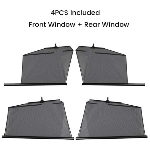 TAPTES Model 3 Model Y Automatic Lifting Window SunShade, set of 4 PCS