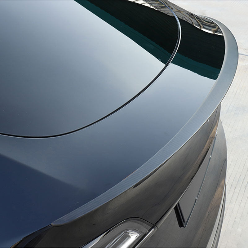 TAPTES Model Y Rear Trunk Spoiler, Performance Carbon Fiber Spoiler for Model Y 2021 2020
