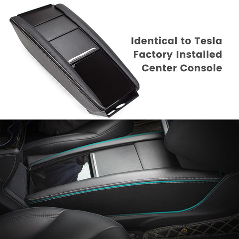 Tesla Model S Center Console Insert, 2012-May 2016 Model S Center Console