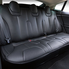Tesla Model S Rear Seats Covers, Model S Seat Protector