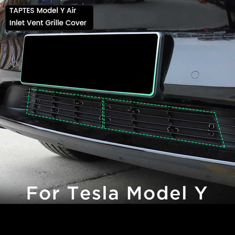 TAPTES Tesla Model Y Air Intake Vent Cover, Air Inlet Vent Grille Cover for Tesla Model Y 2021 2020