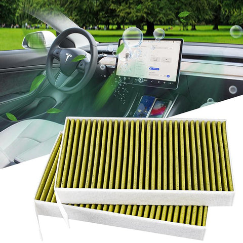 TAPTES Cabin Air Filter for Tesla Model 3 ( Set of 2 )