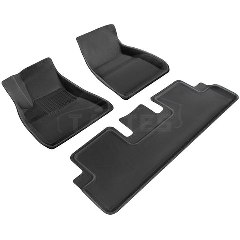 TapTes 3D All-Weather Floor Mats for Tesla Model 3
