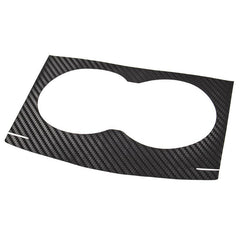Center Console Cover / Cupholders Decoration Carbon Fiber Stickers for Model S - TAPTES