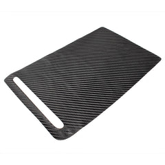 Center Console  Cover / Cupholders Decoration Carbon Fiber Stickers for Model X - TAPTES