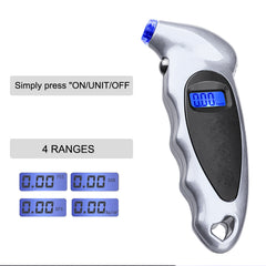 Digita Tire Pressure Gauge for Tesla Owners - TAPTES