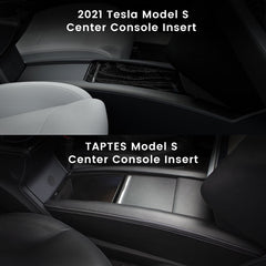 Tesla Model S Center Console Insert, Compatible with June 2012-May 2016 Model S